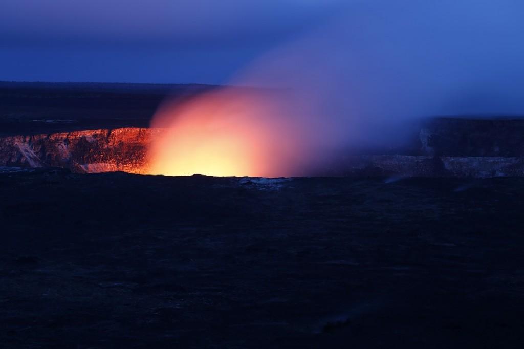 ハワイの世界遺産:ハワイ火山国立公園