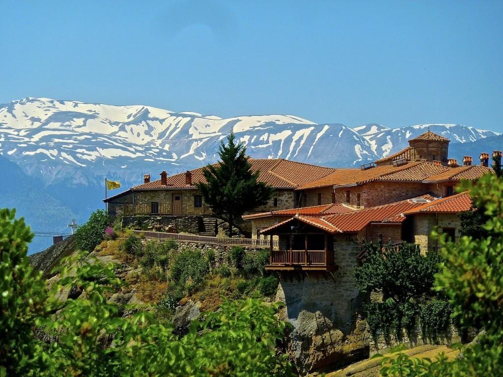ギリシャの世界遺産:メテオラ