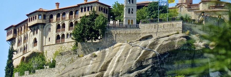 ギリシャの世界遺産・メテオラ