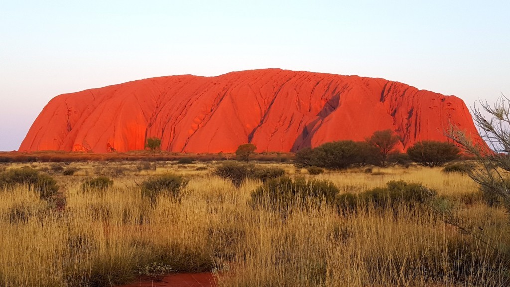 オーストラリアの世界遺産:ウルルーカタ・ジュダ国立公園