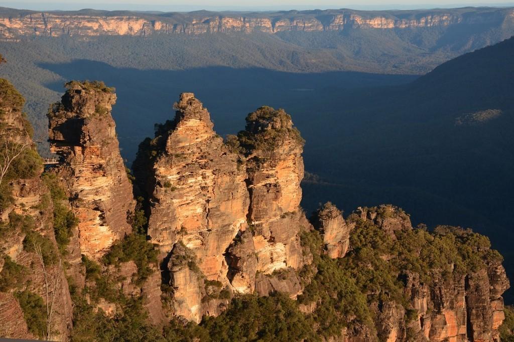 オーストラリアの世界遺産:グレーター・ブルーマウンテンズ