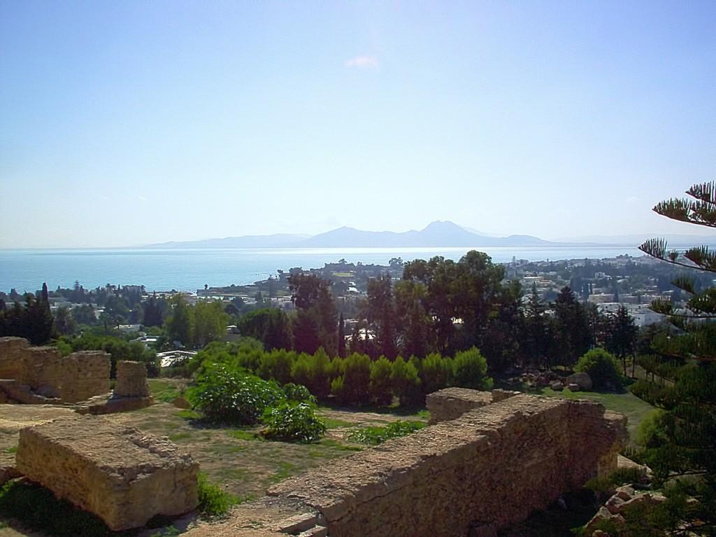 チュニジアの世界遺産・カルタゴ遺跡