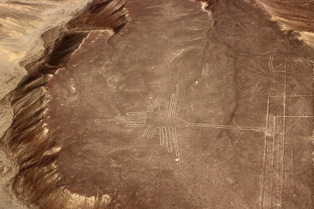 ペルーの世界遺産:ナスカとパルパの地上絵