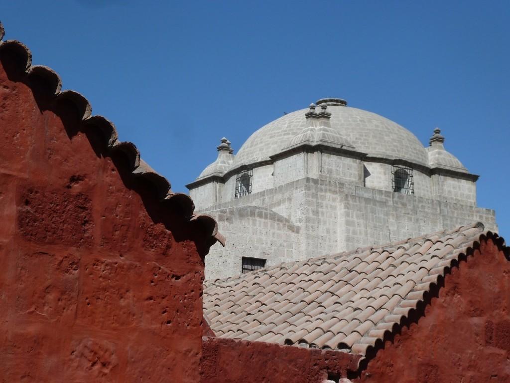 ペルーの世界遺産:アレキパ歴史地区