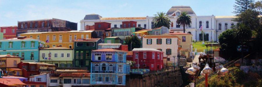 チリの世界遺産:バルパライソの海港都市