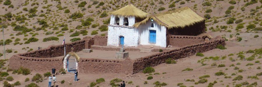 ボリビアとチリの陸路の国境で入国