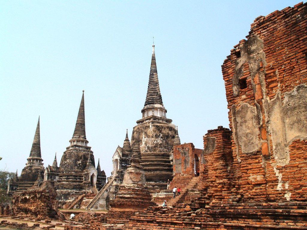 タイの世界遺産:古都アユタヤ