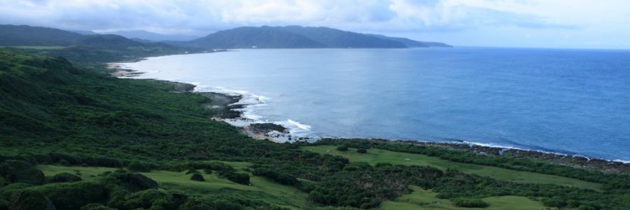 台湾の離島・緑島