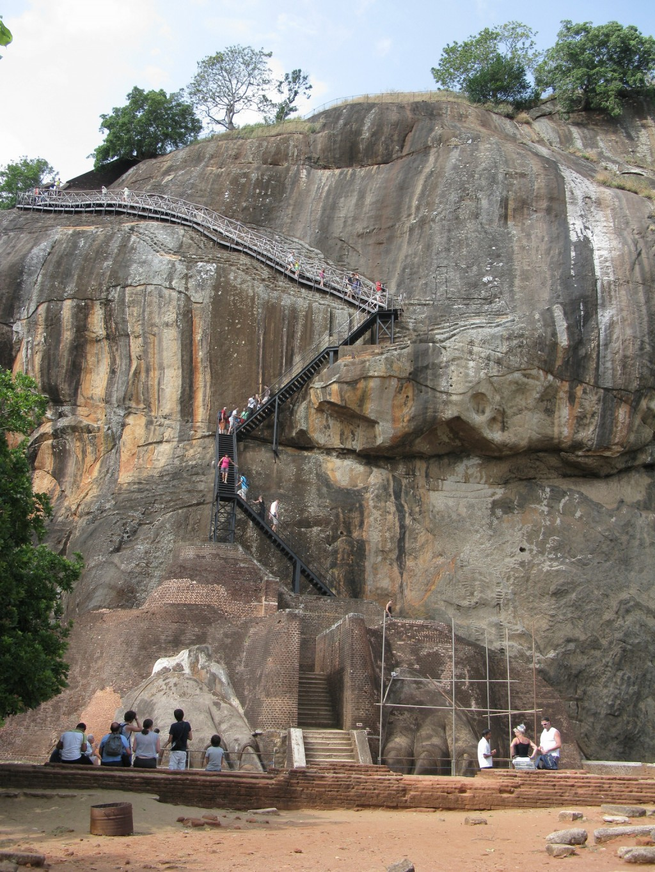 スリランカの世界遺産:シギリヤ・ロック