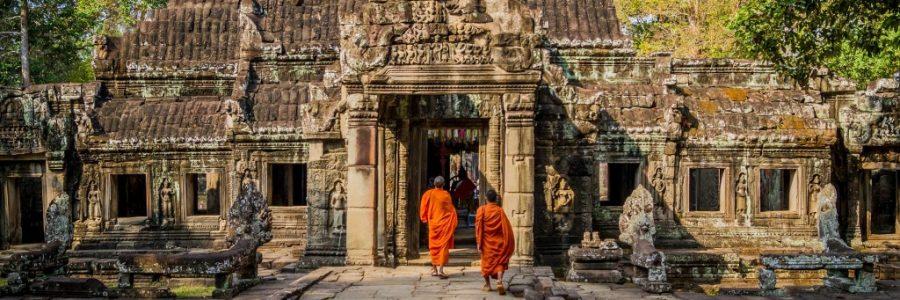 カンボジアの世界遺産・アンコールワット