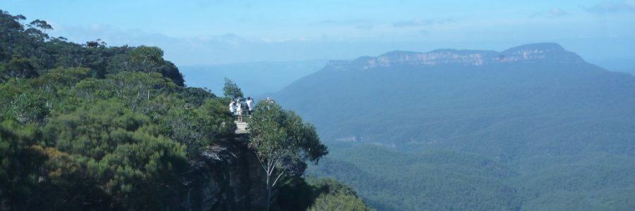 オーストラリアの世界遺産・グレーターブルーマウンテンズ
