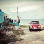 陸路で入国できるメキシコ~ベリーズ間の国境とルート