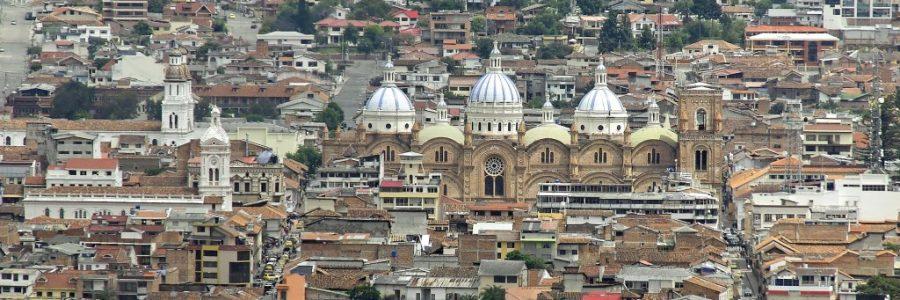 エクアドルの世界遺産・クエンカ歴史地区