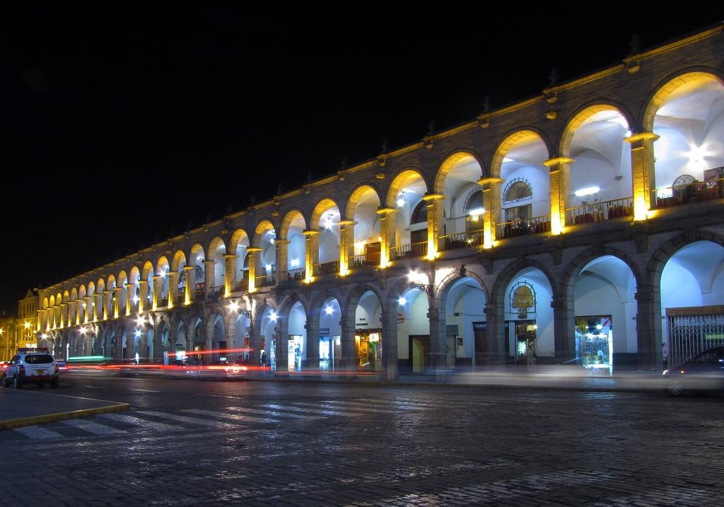 ペルーの世界遺産・アレキパ歴史地区