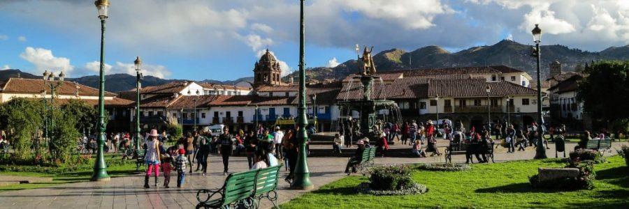 ペルーの世界遺産・クスコ市街