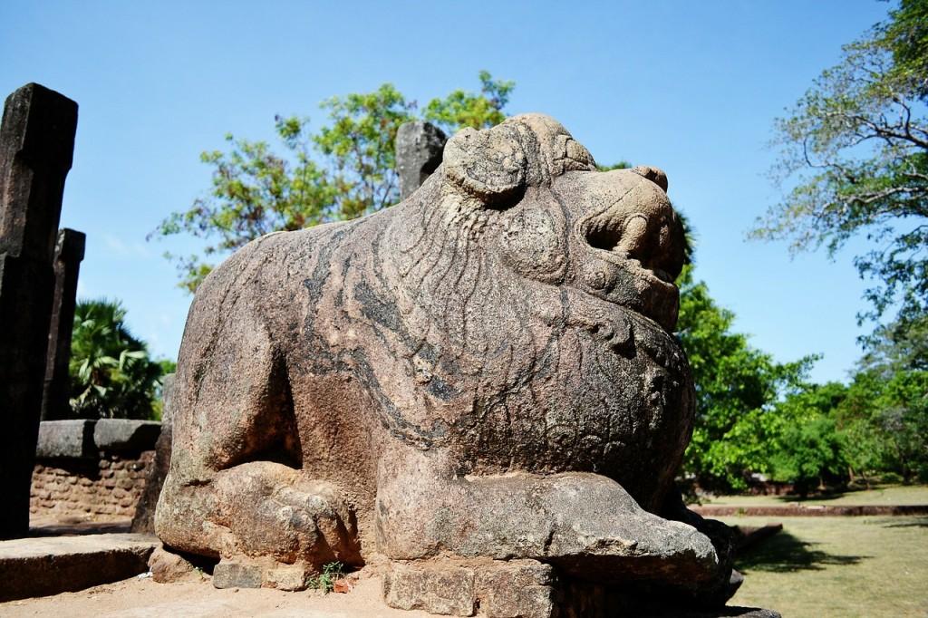 スリランカの世界遺産:ポロンナルワ