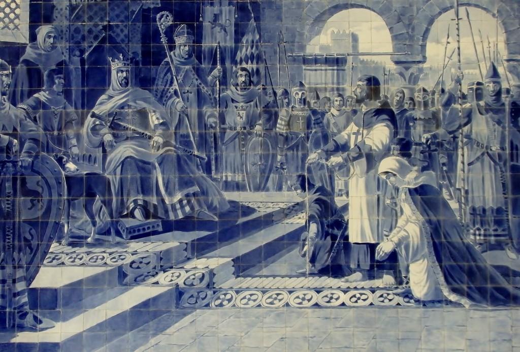 ポルトガルの世界遺産:ポルト歴史地区のアズレージョ