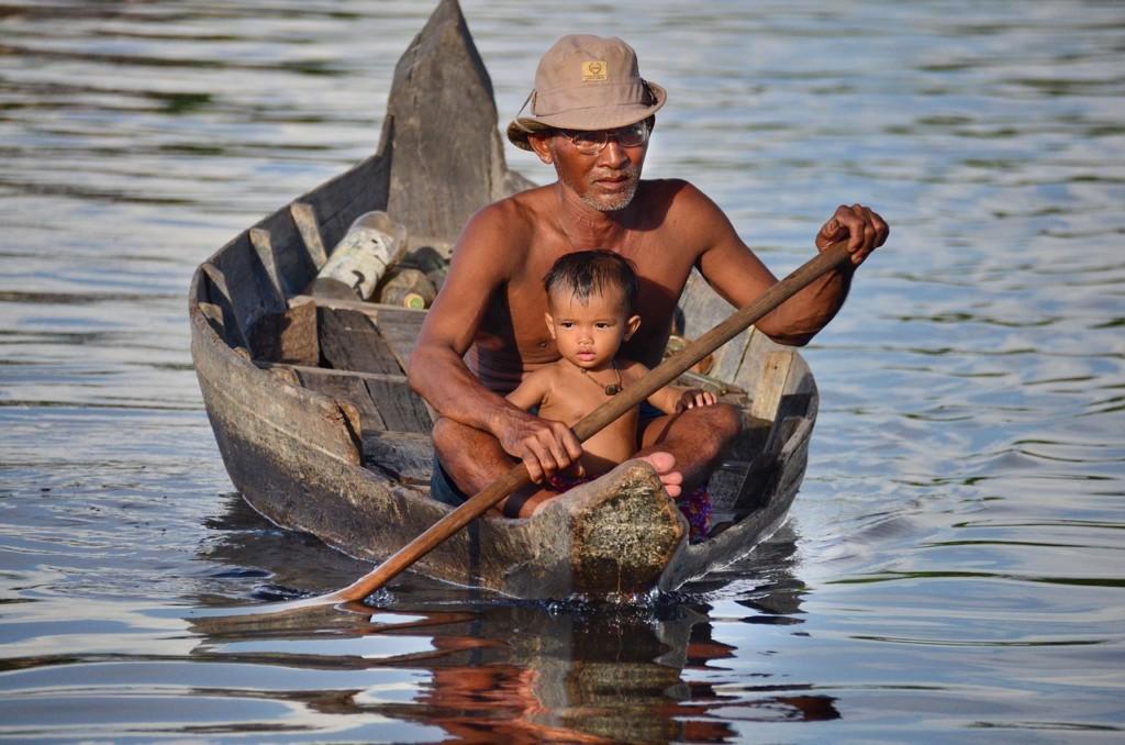 カンボジアの基本情報-時差、言語、人口、宗教、首都、飲料水など