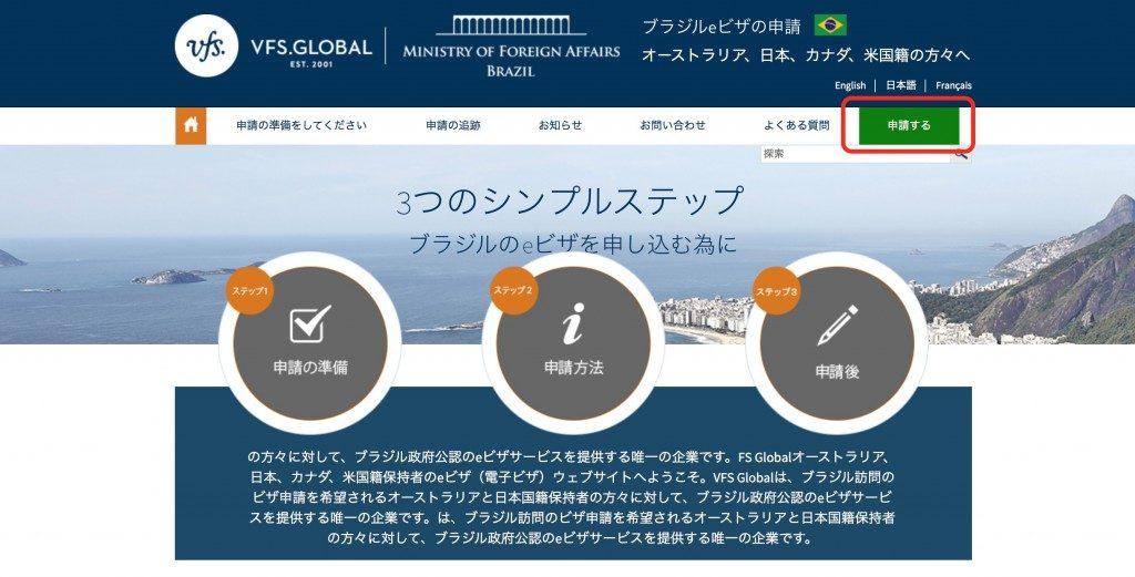ブラジル観光・旅行の入国とビザ申請・取得