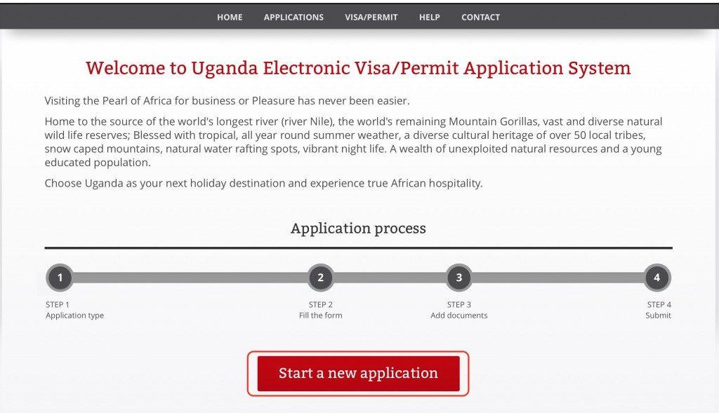 ウガンダ観光・旅行の入国とビザ申請・取得